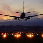 千里川の飛行機